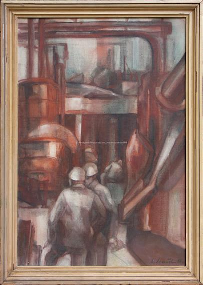 Karel Souček (*1915) - V huti