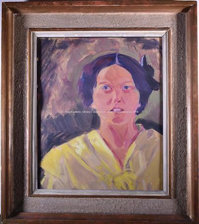 Václav Špála - Žena ve žlutém