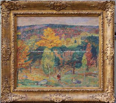 Karel Špillar - Podzim v lese