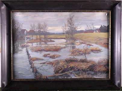 W. Kerschensteiner - Krajina- močály
