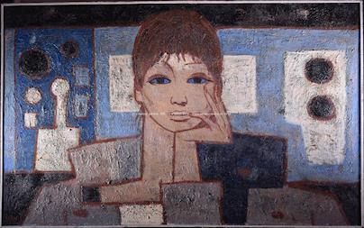 Ivan Sedliský - Modrý portrét