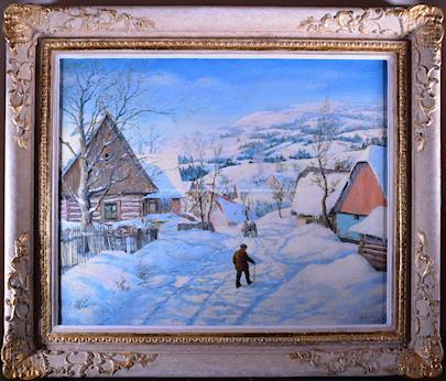 signatura  nečitelná - Zima 1944
