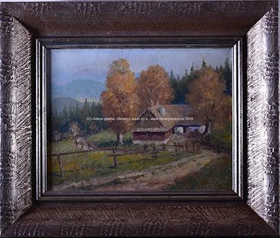 Adolf Hajduček - Chalupa u lesa