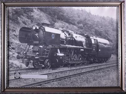 Nesignováno - 1E dvojčitá lokomotiva řady 556.0