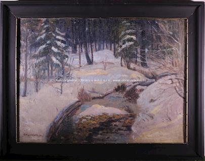 A. Procházka - Zima u potoka