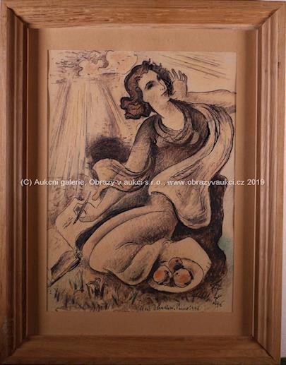 Ladislav Šíma - Žena s jablky