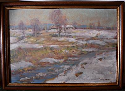 Karel Schauer - První sníh v krajině