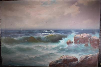 F. Šourek - Mořský příboj