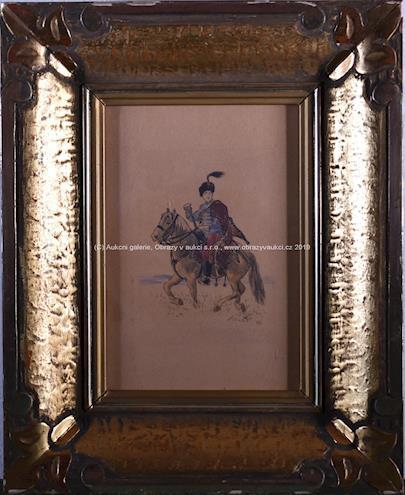 Mikoláš Aleš - Husar na koni