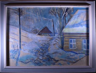 Jaroslav Grus - Cesta zimní vesnicí