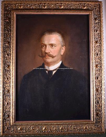 Dominik Skutecký - Portrét muže