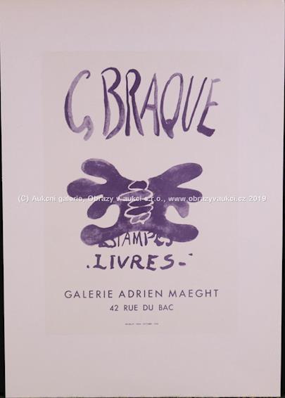 Georges Braque - Estampes-Livres-Galerie Adrien Maeght