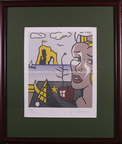 Roy Lichtenstein - Eva s jablkem