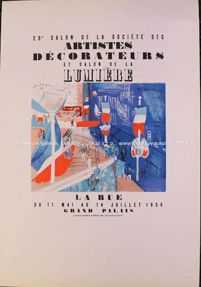Raoul Dufy - Salon des Artistes décorateurs