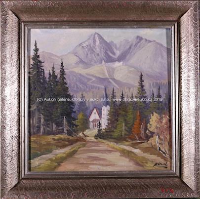 Adam Glod - Alpský kostelík