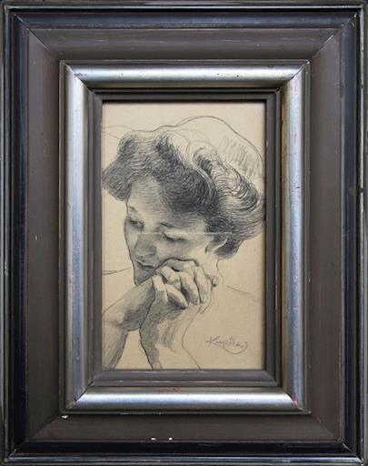 František  Kupka - Portrét ženy