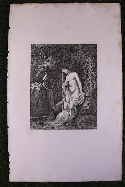Salomon Gessner - Léda s labutí