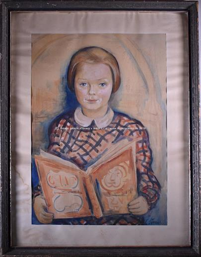 Ladislav Šíma - Dívka s knihou