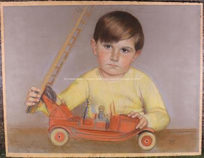 monogramováno - Dětské portréty