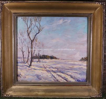 J. Habart - Zimní cestou