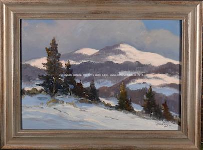 František Horký - Zimní krajina