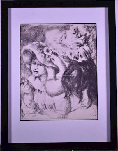 Auguste Renoir - Le chapeau épinglé