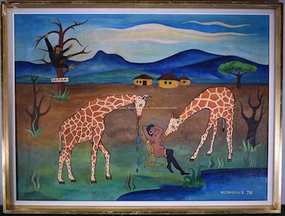 Josef Hlinomaz - Žirafy objevují kozy