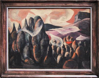 Josef Liesler - Abstraktní motiv