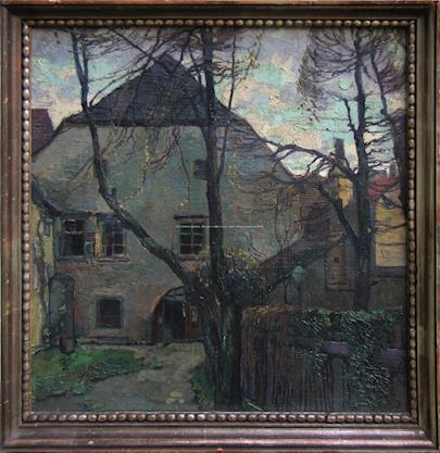 monogramováno J.S. - Starý dům