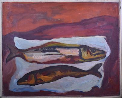 František  Tříska - Dvě ryby