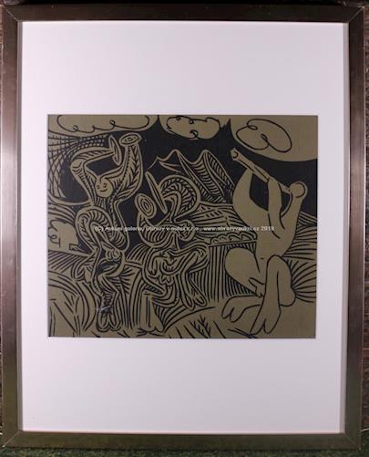 Pablo Picasso - Danseurs et musiciens, opus 939