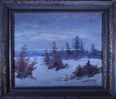 Otakar Hůrka - Zimní krajina