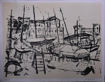 Rudolf Hradil - Delfino v přístavu