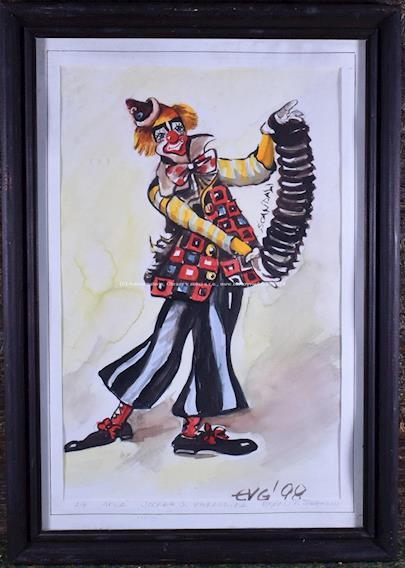 Evgenij P. Steffanov  - Klaun s harmonikou