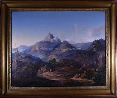 Alois  Kirnig - Alpská krajina