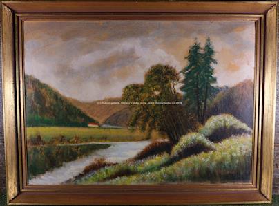A. Moravec - U řeky