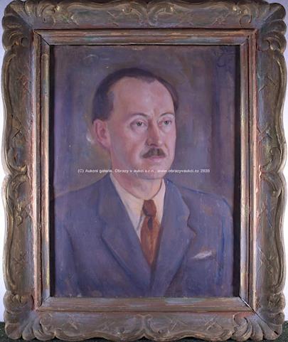 Karel Živný - Muž s knírkem