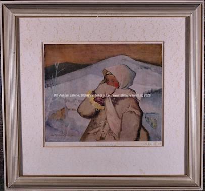 Martin Benka - Zima - mrzne