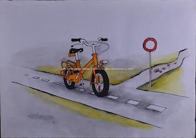Kája Saudek - Jízdní kolo se zákazem vjezdu