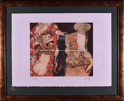 Gustav Klimt - Die Braut