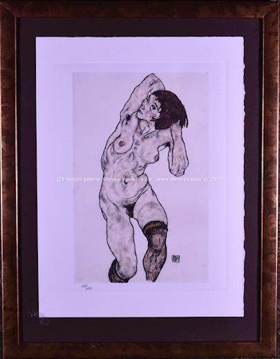 Egon Schiele - Female Nude