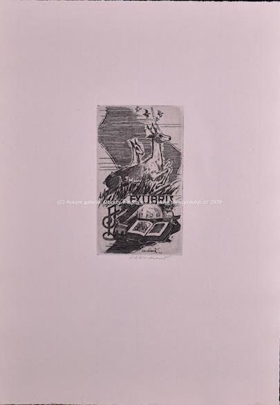 Jan Charles Vondrouš - Soubor 15-ti ex libris