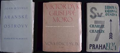 Ch.Baudelaire,A.M.Píša,F.Fiedler,A.Novák,J.Hora,P.Toman,J.Synge,V.Dyk,L.Delluc. - Soubor 10 knih z 1. třetiny 20.stol. II
