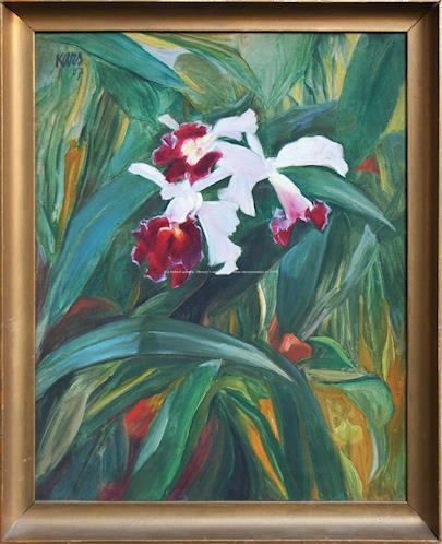 Georges Kars - Orchideje
