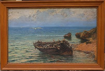Josef Písecký - Vrak na pobřeží
