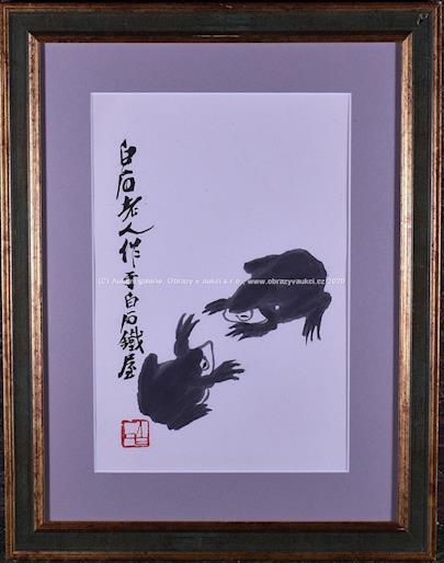 Bai-shi Qi (Čchi Paj-š´) - Japonské žáby