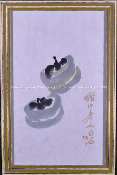 Bai-shi Qi (Čchi Paj-š´) - Hnízda s mláďaty