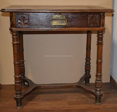 Střední Evropa počátku 20. století - Šicí stolek