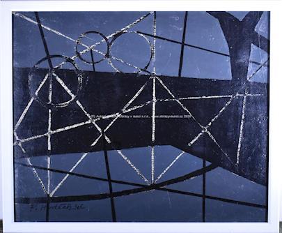 František Hudeček - Černá abstrakce