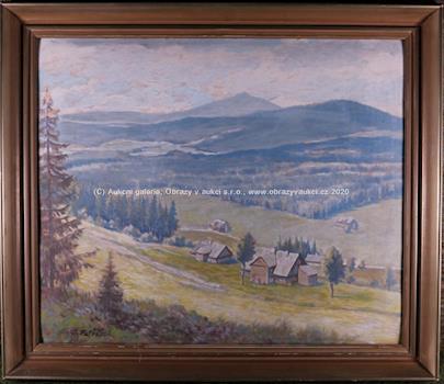 Adolf Petříček - Horské chaty